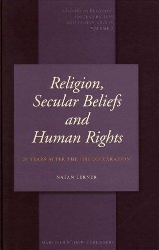 Download Religion, Secular Beliefs and Human Rights